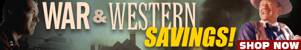 War and Western Movies Sale