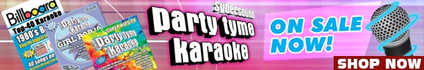 Party Tyme Karaoke Sale by Sybersound Records
